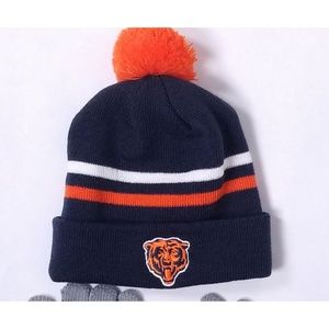 NFL Accessories - Kids Chicago Bears NFL Knit Hat and Screen Gloves d1ce4eaf6